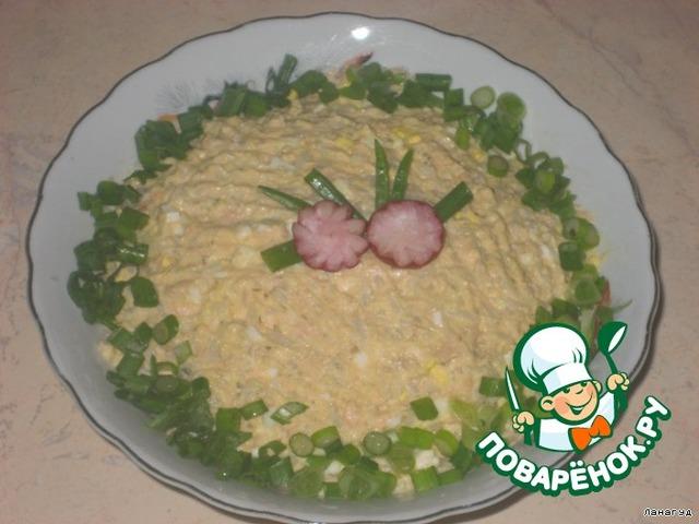 рыбный салат рецепт простой