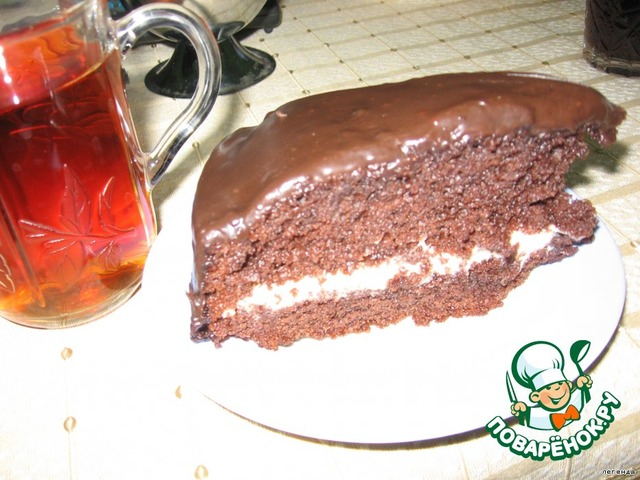 Торт желейный без выпечки с йогуртом фото 9