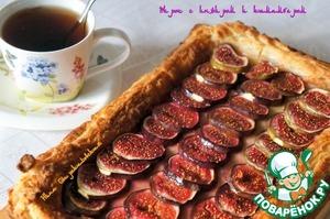Рецепт Пирог с инжиром и камамбером