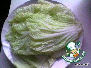 Готовим Голубцы из пекинской капусты домашний рецепт с фото #3
