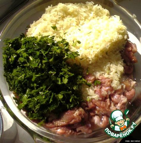 Как приготовить Фаршированый перец по-домашнему домашний рецепт с фото #6