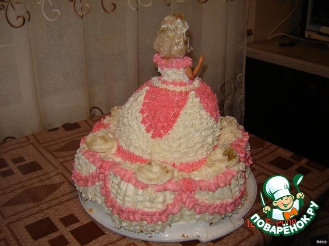 торт барби пошаговий рецепт фото