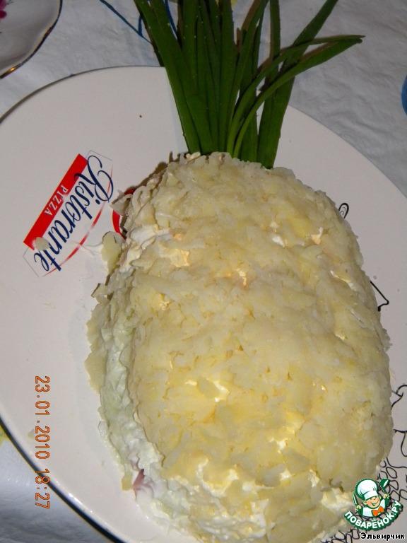 Салат ананас в домашних условиях 596