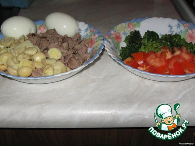 Как приготовить яйца с печенью