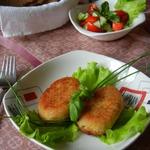 Картофельно-рыбные  котлетки