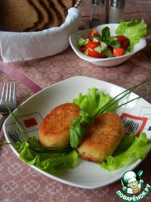 Рецепт Картофельно-рыбные котлетки