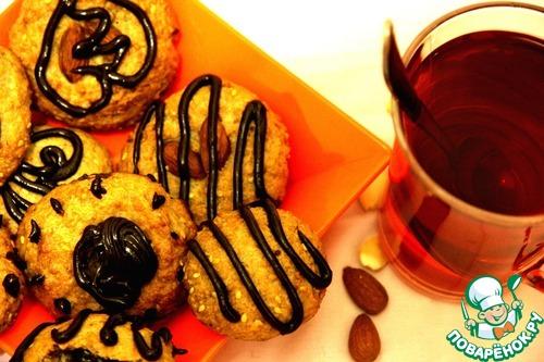 Миндально-кунжутное печенье