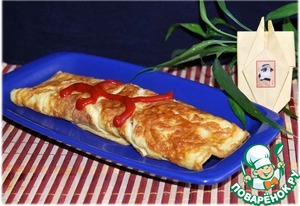 Рецепт Рис в яичной обёртке-Омурайсу