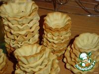 Тарталетки с сырно-куриной закуской ингредиенты