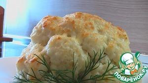 Рецепт Цветная капуста под молочным соусом