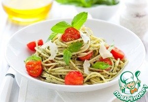 Рецепт Спагетти с песто