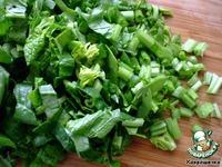 Вегетарианский суп со шпинатом и свеклой ингредиенты