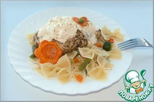 Рецепт Куриные грудки по-итальянски под сливочным соусом