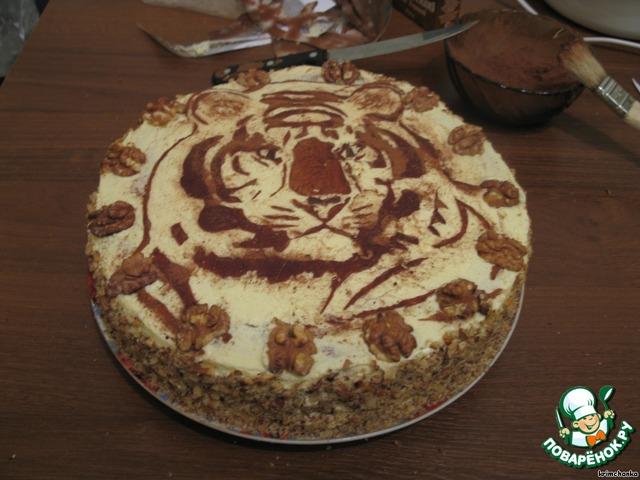 Торт подарочный рецепт с пошагово в домашних условиях
