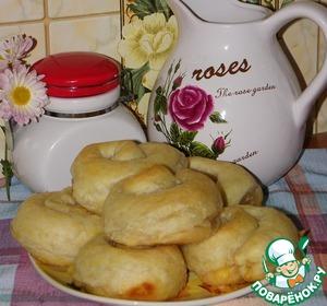 Рецепт Слоеные булочки-улитки