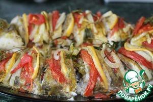 Рецепт Запеченный судак под горчичным соусом