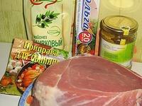 Свинина, запеченная в фольге ингредиенты