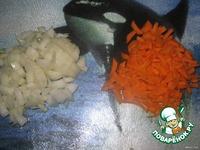 Суп курино-грибной с домашней лапшой ингредиенты