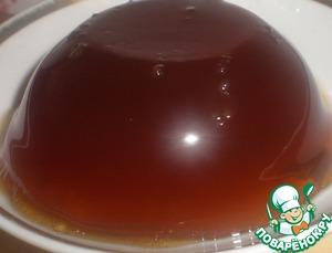 Рецепт Чайное желе с ромом