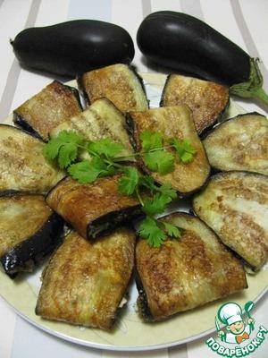 Рецепт Баклажановые сендвичи