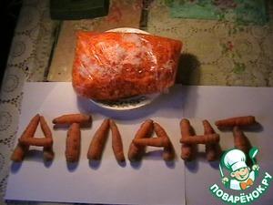 Рецепт Замороженная морковь круглый год