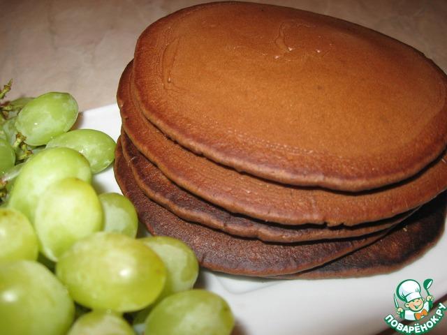 Фото рецепт американских шоколадных панкейков | Всё