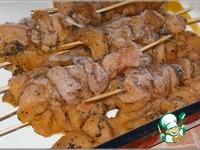 Шашлычки пикантные из куриной грудки ингредиенты