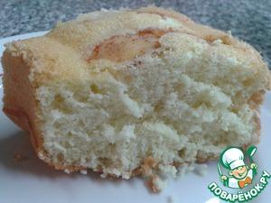 Рецепт Высокий и пышный бисквит без соды