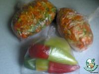 Перец болгарский замороженный ингредиенты