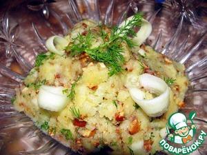 Рецепт Картофельный крем с миндалем
