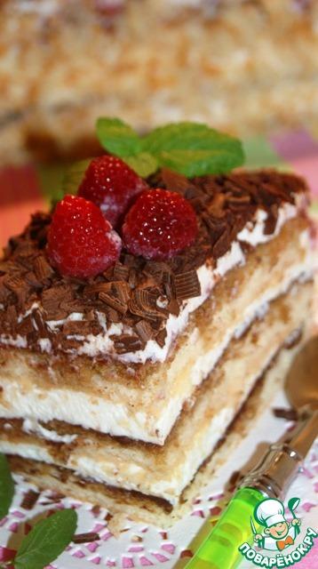 швейцарский торт рецепт
