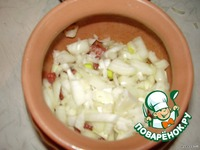 Горшочки с овощами и говядиной ингредиенты