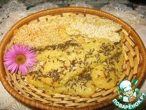 Рецепт Сырное тесто и варианты выпечки из него