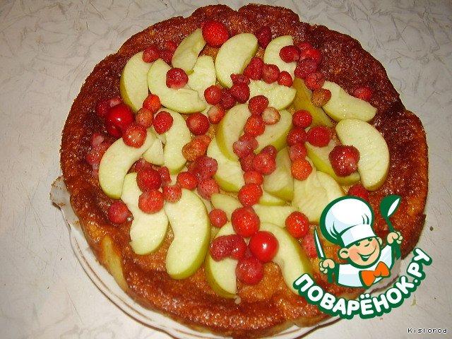 Тирольский пирог с пошаговым