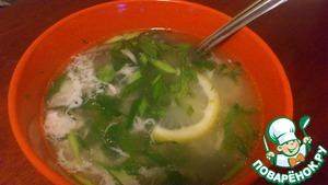 Рецепт Китайский супчик