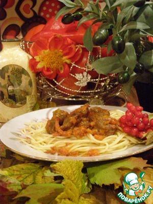 Рецепт Баранина по-итальянски с салями