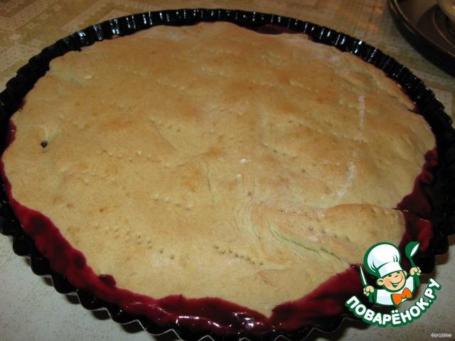 Пирог со смородиновым вареньем рецепт с пошагово