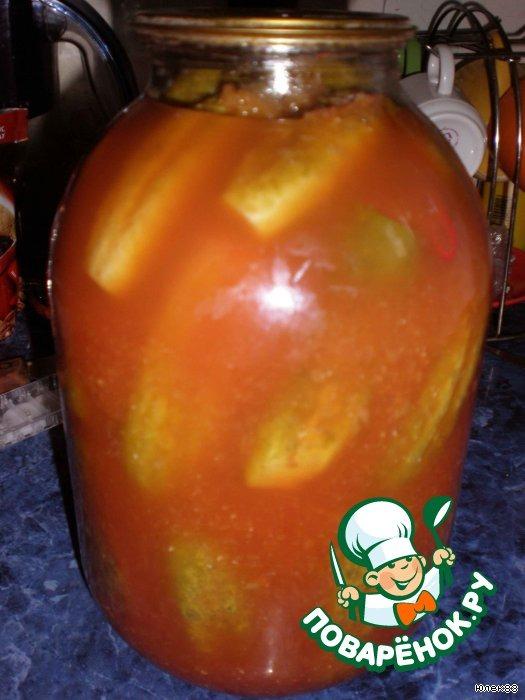 поваренок помидоры на зиму резаные самом