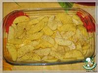 Картофель, запеченный в сливках с травами ингредиенты