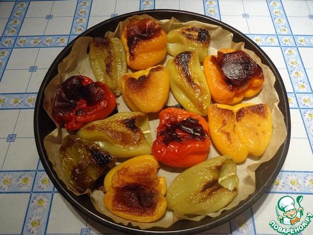 Печеные перцы в духовке