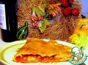 Рецепт Panzerotti или Итальянский пирожок для посиделок осенью