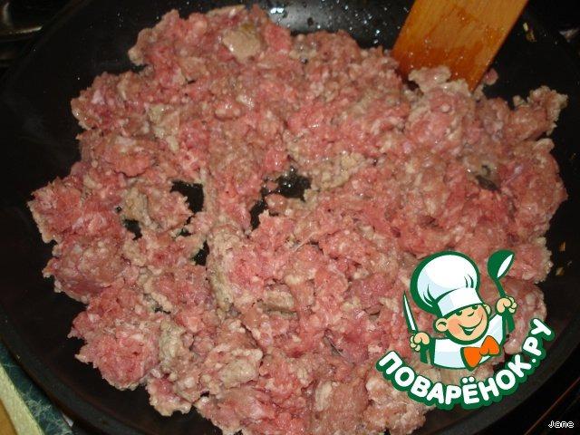 Пирог с мясом на дрожжевом тесте простой рецепт приготовления с фото готовим #9