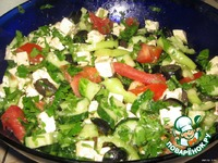 Как приготовить салат греческий пошаговый