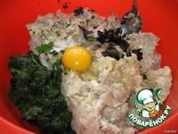 Рыбные котлетки со шпинатом ингредиенты