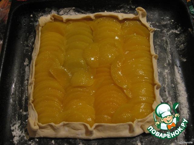 рецепт персиков теста с фото