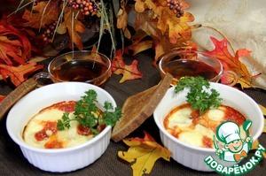 Рецепт Яйца в томатном соусе по-итальянски