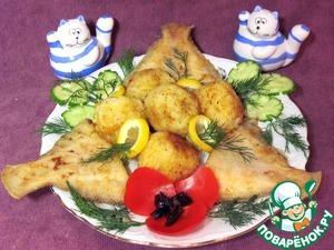 Рецепт Крокеты рисовые с рыбой.