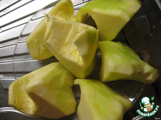 рецепт приготовления патиссонов жареных с чесноком