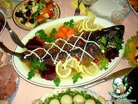 Рыба фаршированная ингредиенты