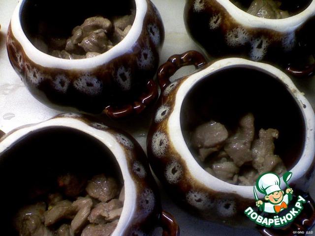 Жаркое из индейки с овощами в горшочке вкусный рецепт с фото как готовить #1